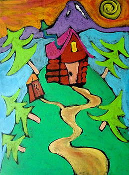 A Cabin in the Woods by Carla MacDiarmid