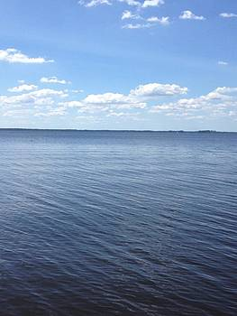 A Calm Pamlico Sound by Joan Meyland