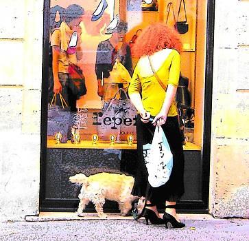 Jan Matson - A chic Parisian Lady