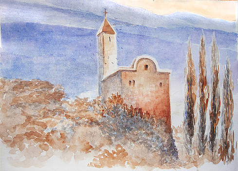 A Church from Italy by Timo Luomanpera