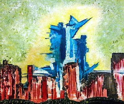 A City Under Siege by Lady Ex