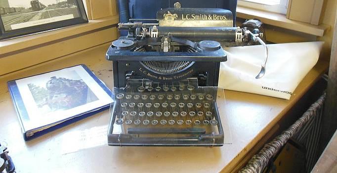 Linda Gonzalez - A Classic Typewriter