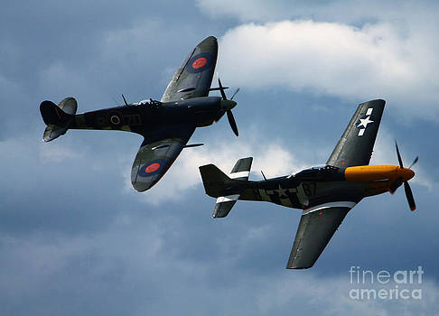 A Close Formation by Tom Hard