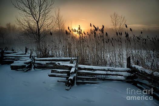 A Cold Sunrise by Doug Hagadorn