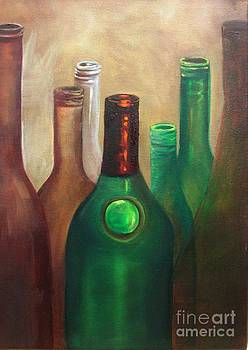A Collection of Bottles by Barbara Haviland