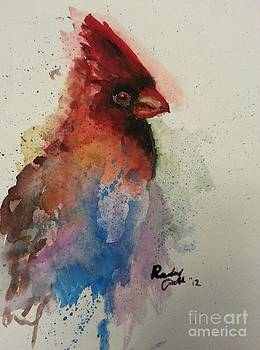 A Colorful Cardinal by Raitchele Cornett