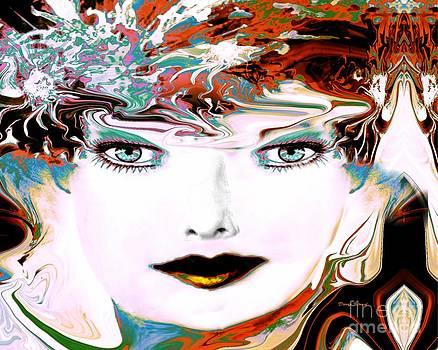 A Colorful Portrait by Doris Wood
