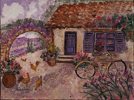 A Cottage in Provence by Elaine Elliott