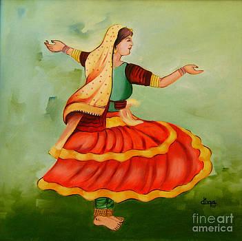 A Dancing Girl by Divya Kakkar