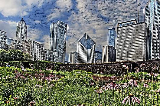 A Day at Millennium Park Park by Cheryl Cencich