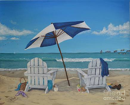 A Day at the Beach by Jeremy Reed