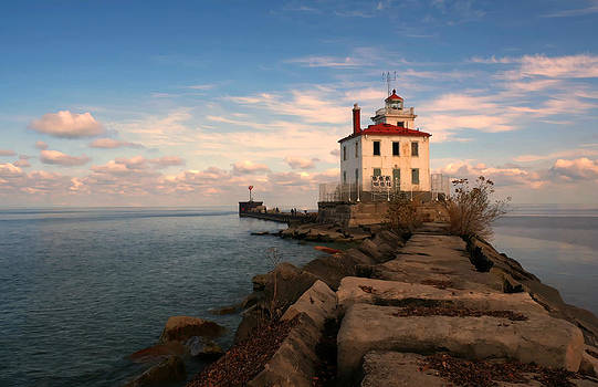 A Day at the Lighthouse by Frank Szekely