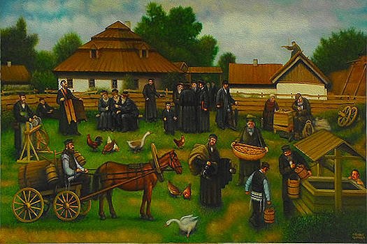 A day in the Life of the Shtetl. by Eduard Gurevich