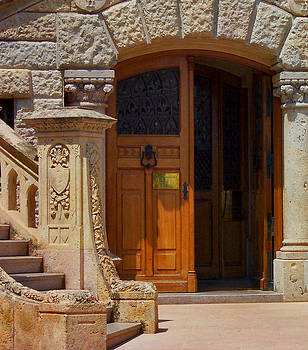 A door in Monaco by Christine Burdine