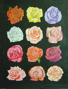 A Dozen Roses by Ruth Seal