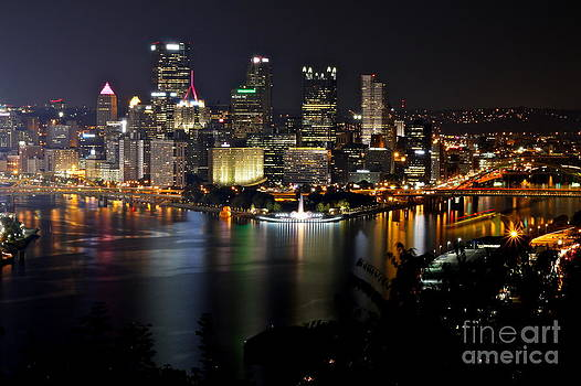 A Ducky Night In Pittsburgh by Jay Nodianos
