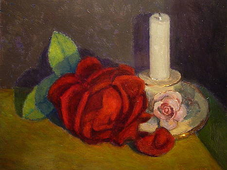 A Dying Rose by Terry Perham