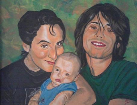 A Family Portrait by Edward Pebworth