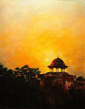 A Far Pavilion by Anees Peterman