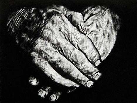 A Fathers Hands by Ann Supan