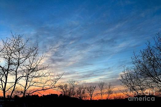 A February Sunset by Jay Nodianos