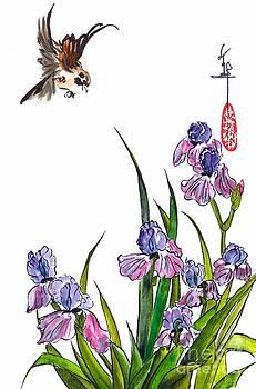 LINDA SMITH - A Field of Irises