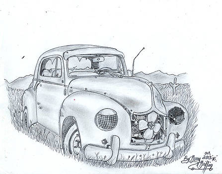 A Fine Car Lost And Forgotten In Time  by Gerald Griffin