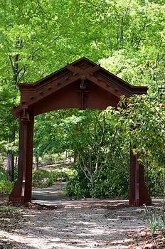 Maria Urso  - A Garden Entrance