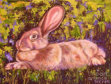 A Giant Continental Rabbit by Susan A Becker