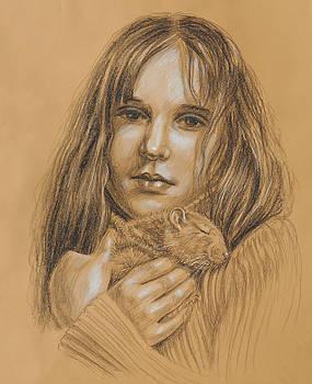 Irina Sztukowski - A Girl With The Pet