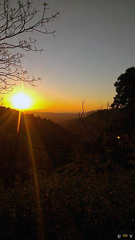 A Glorious Sunrise Over Nebo by Edwin Vincent