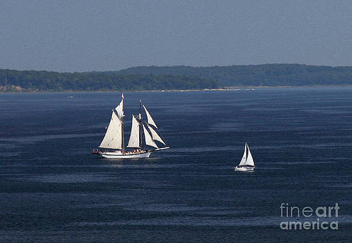 A Good Day on Grand Traverse Bay by James Lady