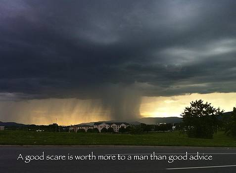 Jennifer Lamanca Kaufman - A good scare is worth more to a man than good advice