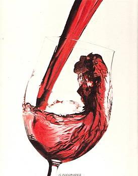 A good wine by Gary Fernandez