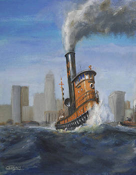 A Great Day for Tugs by Christopher Jenkins