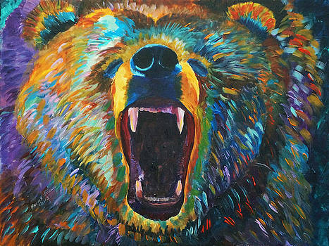 A Grizzly Mood by Frankie Picasso