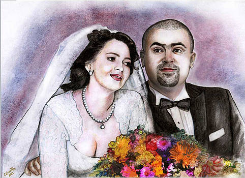 A happy couple by Carina Benedek