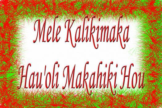 A Hawaii Christmas Card by William Braddock