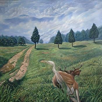 A Hunters Dream by Jorge Cardenas