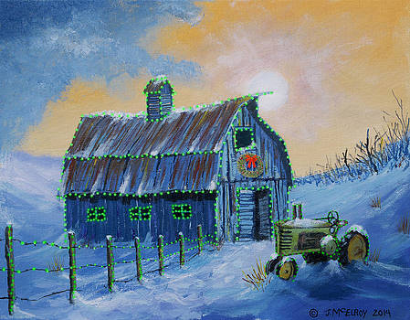 A John Deere Green Christmas by Jerry McElroy