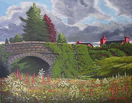 A Killarney Bridge - SOLD by Christopher Roe