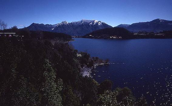 A Lake in the South of Chile by Thomas D McManus
