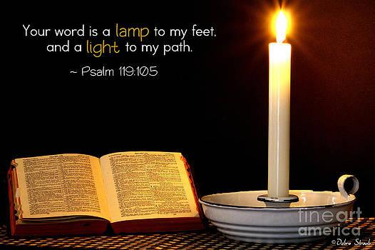 A Lamp To My Feet by Debra Straub