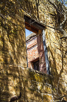 A late 1700s Window  by Brian Williamson