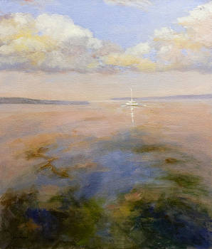 A Late Day Sail by Mary Phelps