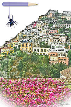 ..a little spider in Positano / Italy by Rachel Veser