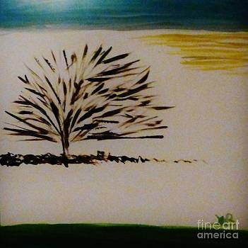A Lone Tree by Marie Bulger