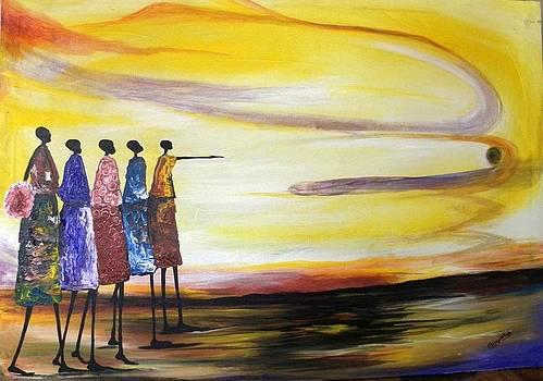 A Long Walk Home by Muwumba