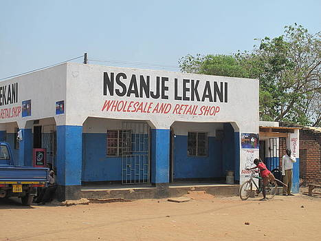 A Malawian Shop  by Frank Chipasula