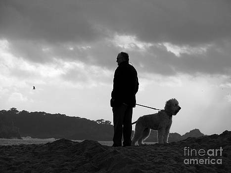 A Man A Dog And A Storm by James B Toy